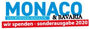 MONACO & Bavaria Logo Sonderausgabe Spende 2020